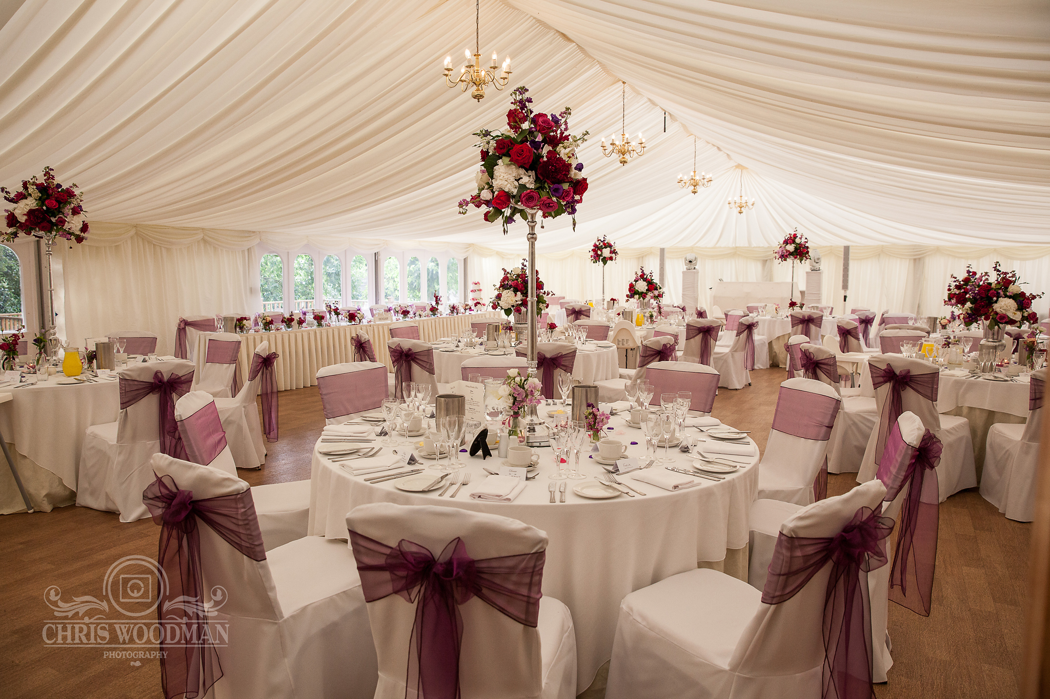 TJ Designer Wedding Mulberry Marquee