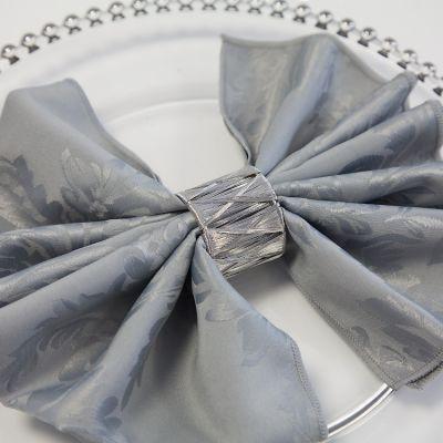 silver-weave napkin ring