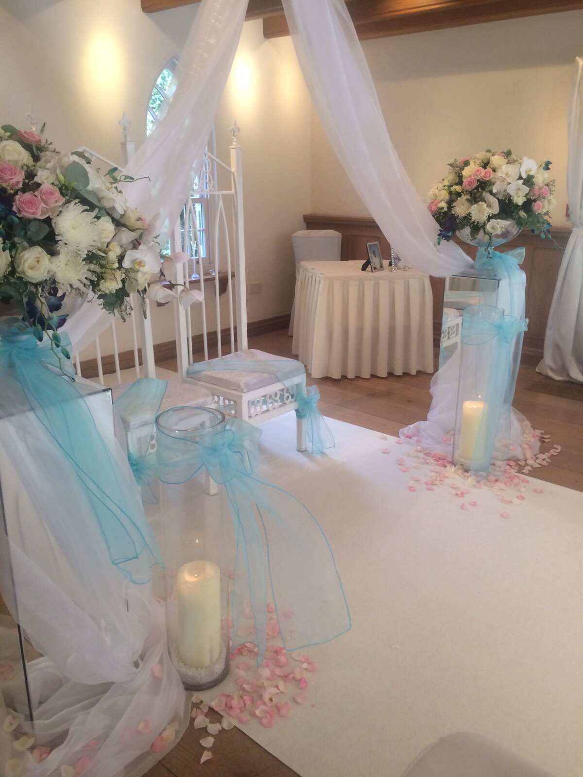 TJ Designer Weddings, Tiffany Blue