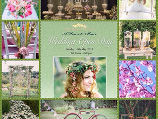 Covered in Bohemian Bliss! Mulberry House Wedding Show 10th May 2015 Special Offer!