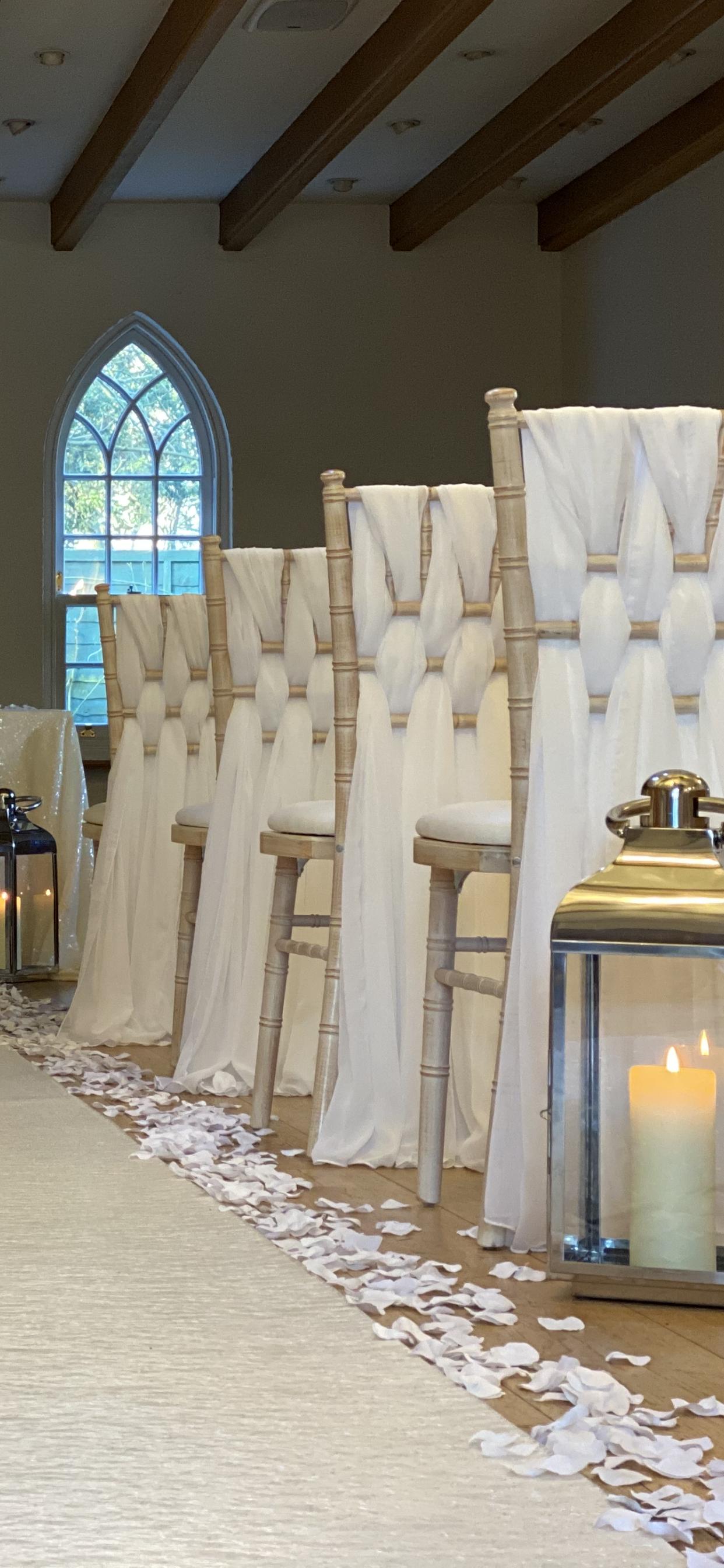 weave luxury ivory chiffon