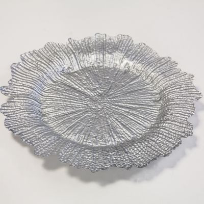 silver reef charger plate