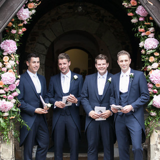 Fryerning Church Wedding  - The Grooms Men