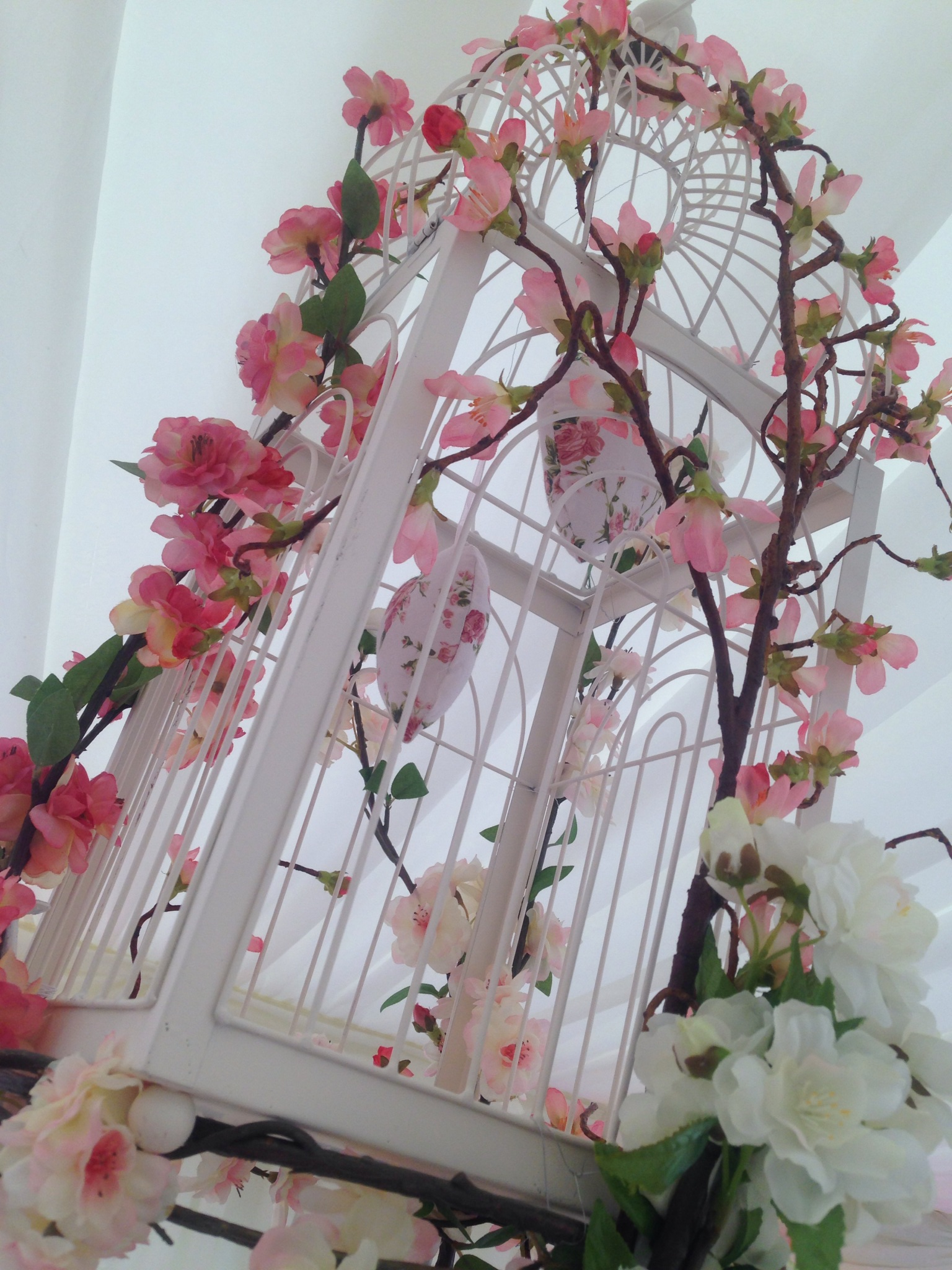 Blossom Bird Cages for guest tables