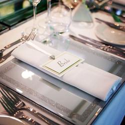 Mirrored Under Plates