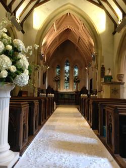 Church aisle carpets