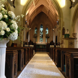 Wickham Bishops Church Wedding