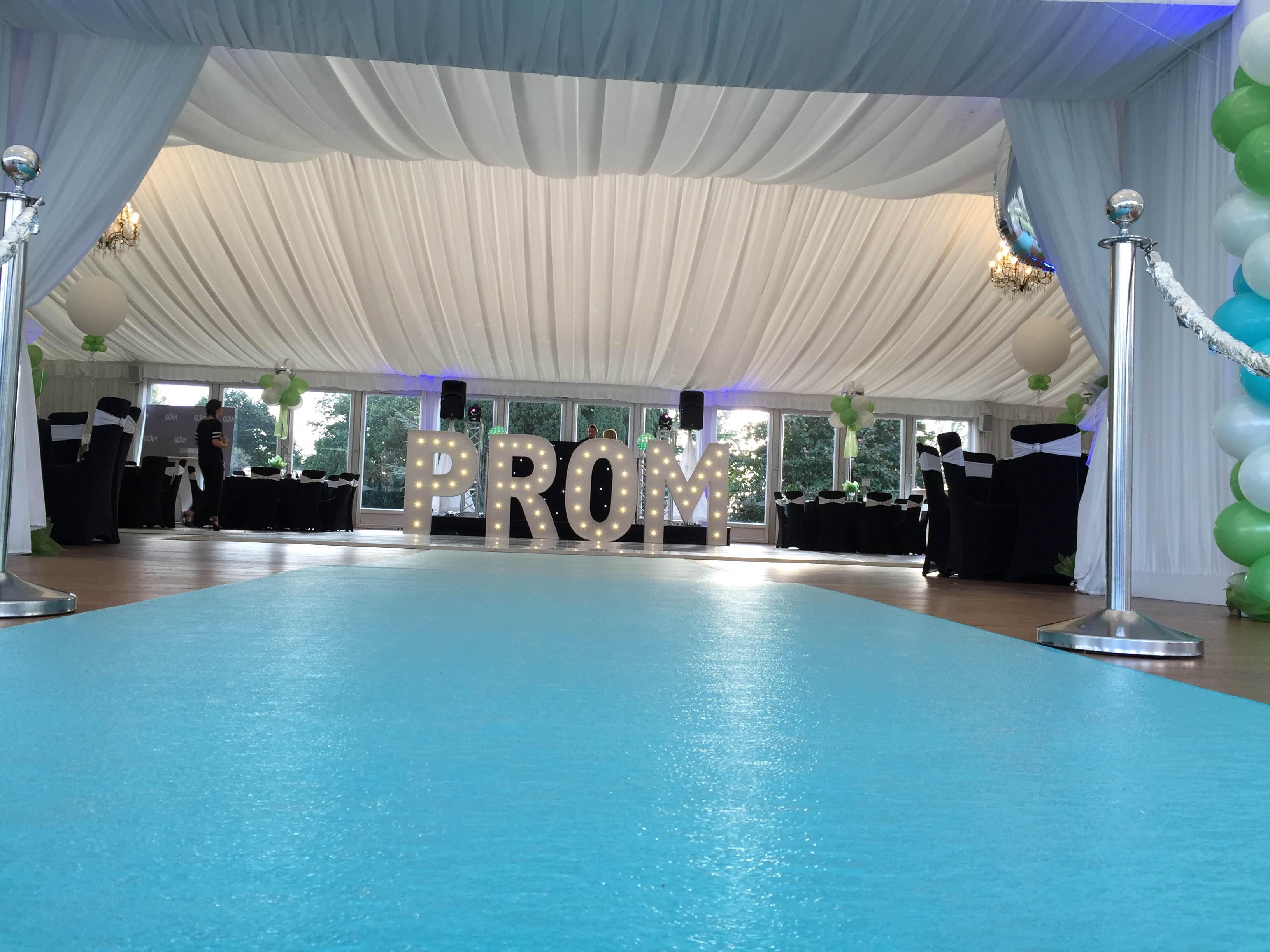 VIP Carpet Prom Teal