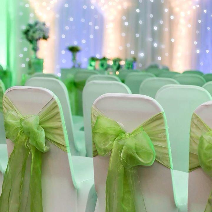 apple green chair covers