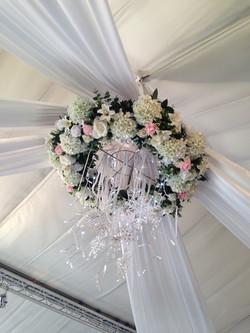 Fresh Flower Ceiling Ring - Essex