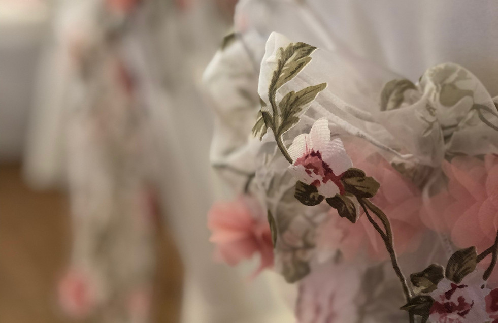 Blossom Chair Sashes to match overlay