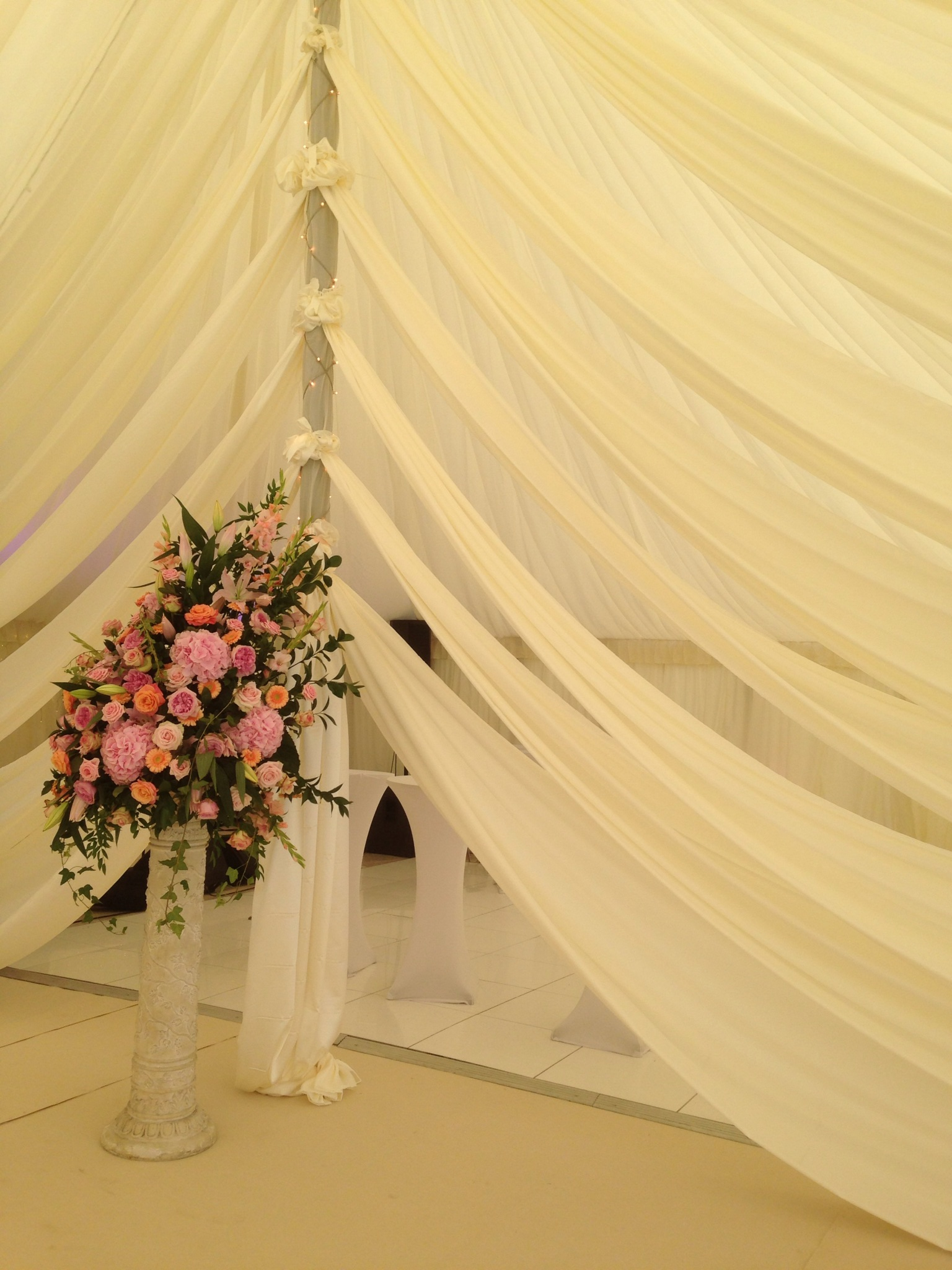Marquee Event Draping - Essex