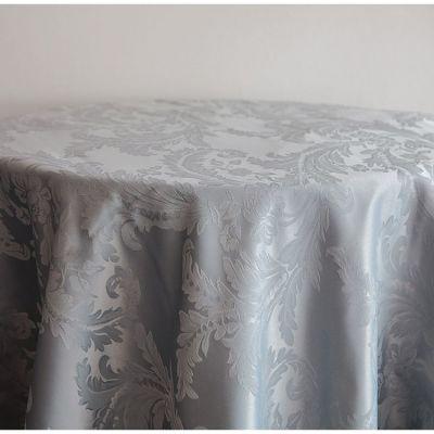 Grey Luxury Damask Table Cloth