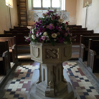 All Saints Font Braxted