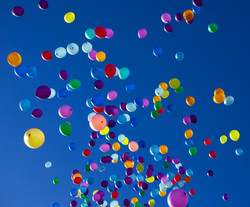 Prom Balloon Release