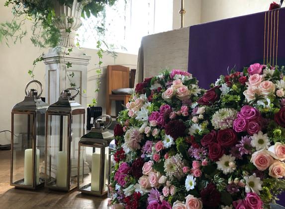 RIP Church Service Mersea Island Essex