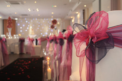 wedding chair covers and sash hire