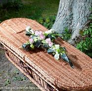 RIP Casket Cross Tributes
