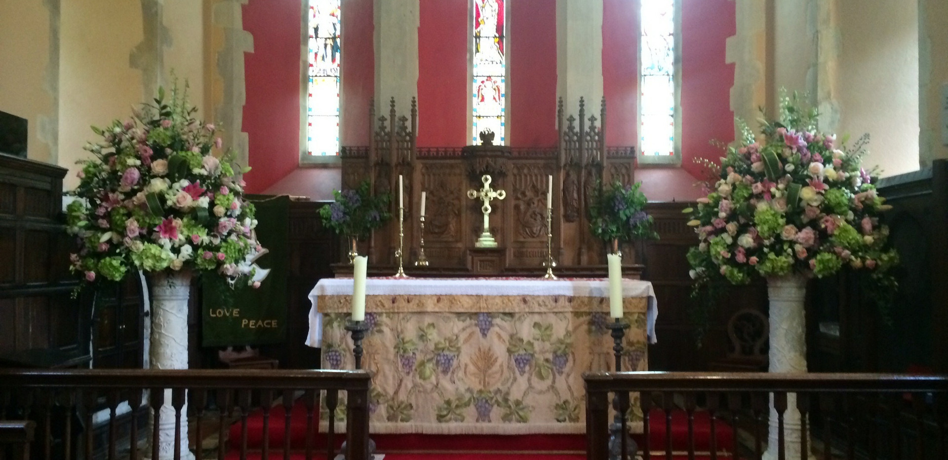 RIP Church Service Flowers
