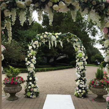 Mulberry House Wedding Arches