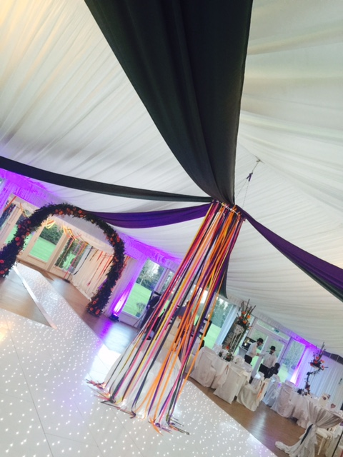 Coverit Canopies Green and Purple