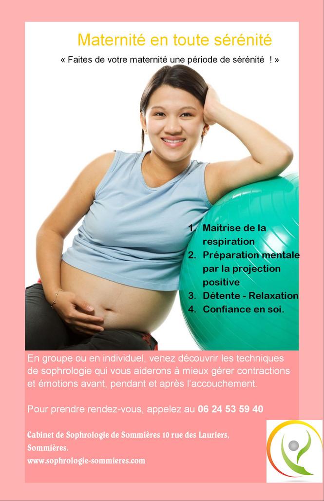 Grossesse-Maternité et Sophrologie