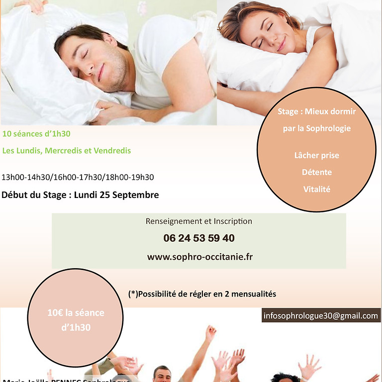 Mieux Dormir avec la Sophrologie