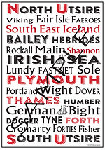 Personalised Nautical Posters