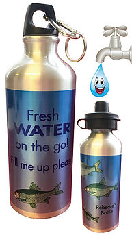 Personalised Re-fillable Water Bottles