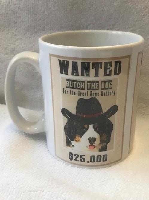Wanted Pet Mug