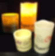 Personalised LED Candles