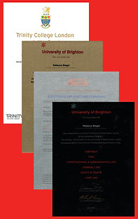 Printed Alumimium Award Certificates
