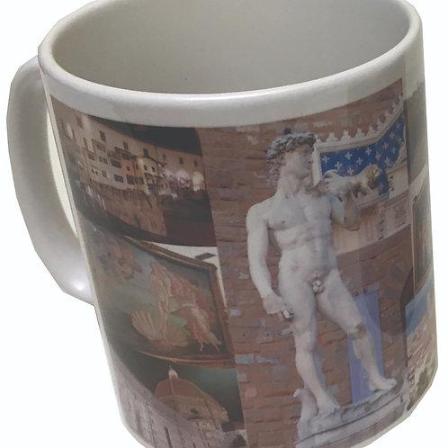 Classic White China Mug