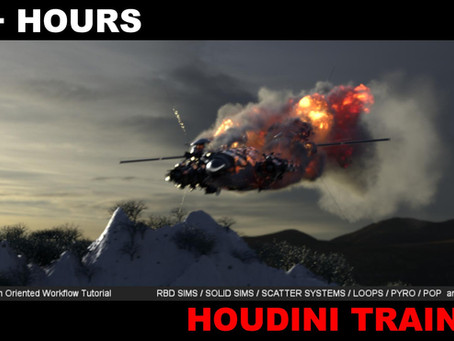 VFX Studio Oriented Houdini FX Training is OUT
