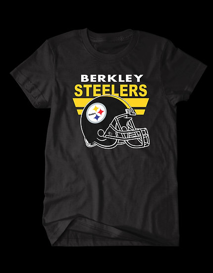 STEELERS HELMET TEE