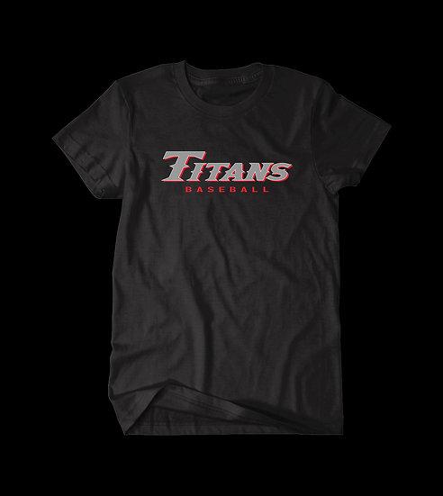 TITANS BASEBALL TEE