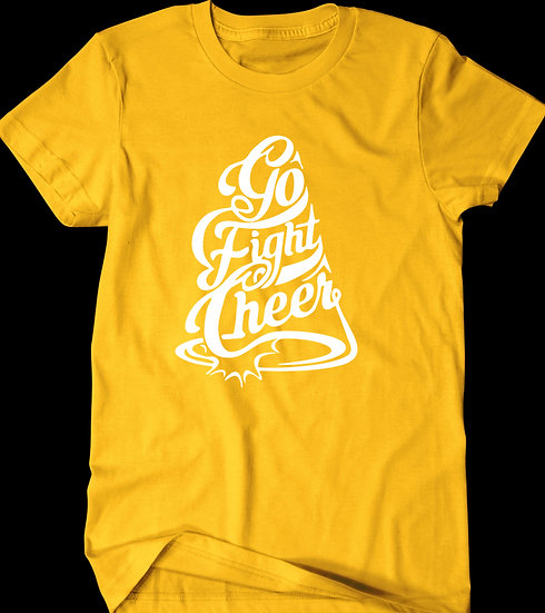 GO FIGHT CHEER TEE