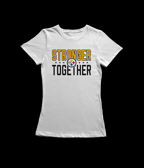 STRONGER TOGETHER - WOMEN'S CUT TEE