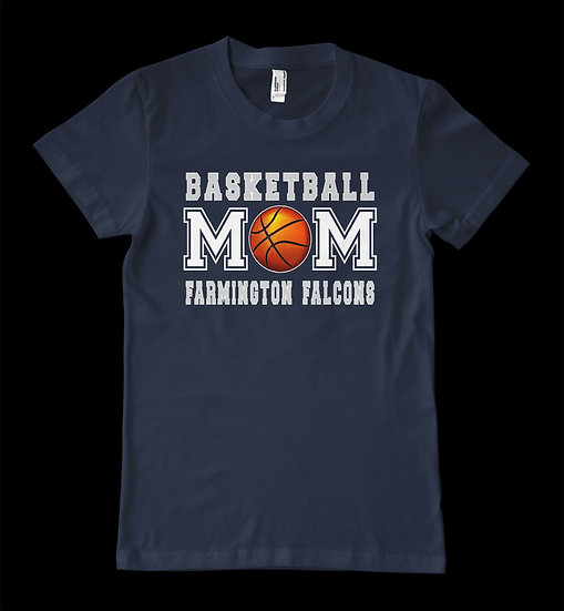 FALCONS BASKETBALL MOM TEE
