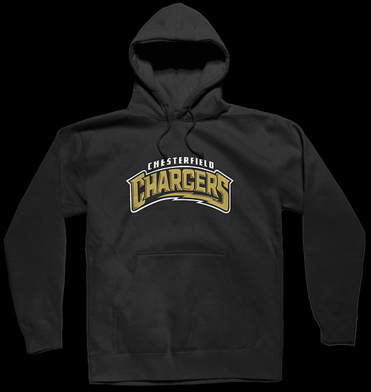 CHESTERFIELD CHARGERS LOGO HOODIE