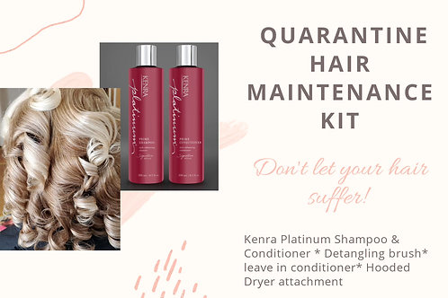 Quarantine Hair Maintenance Kit Starter Package