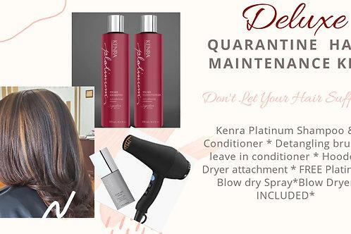 Deluxe Quarantine Hair Maintenance Kit