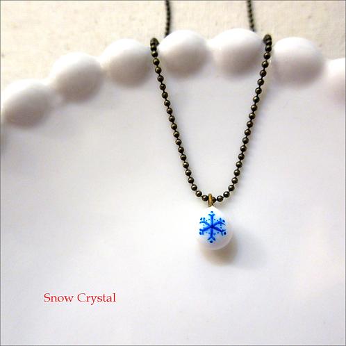 雪の結晶 ネックレス