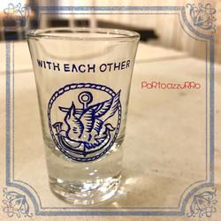 ex81)ロゴショットグラス