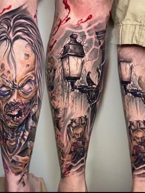 Artur Stec - Zombie tattoo Ink Panthers Echt Tattooshop Limburg Tattoo