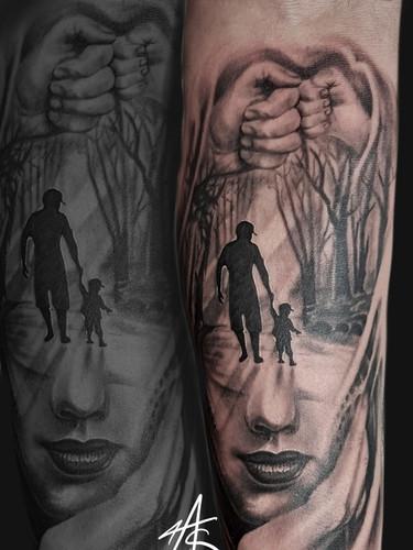 Artur Stec - Family tattoo Ink Panthers Echt Tattooshop Limburg Tattoo