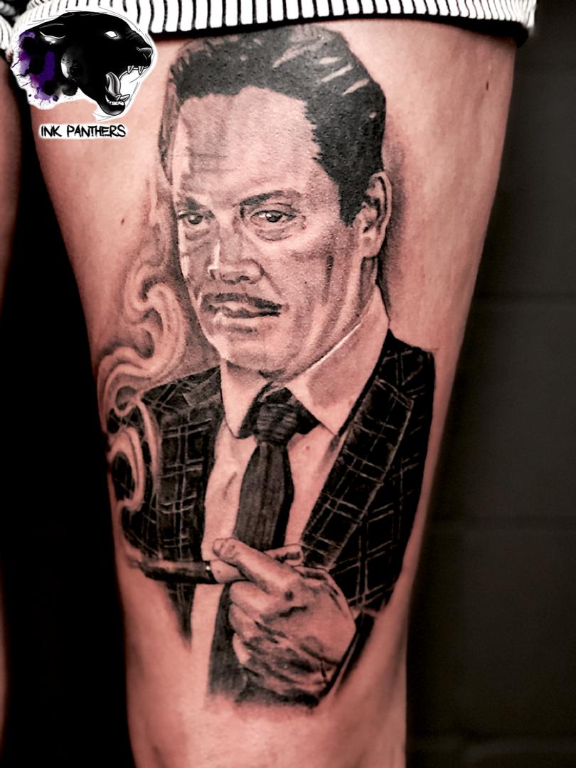 Ivan - Gomez Ink Panthers Echt Tattooshop Limburg Tattoo
