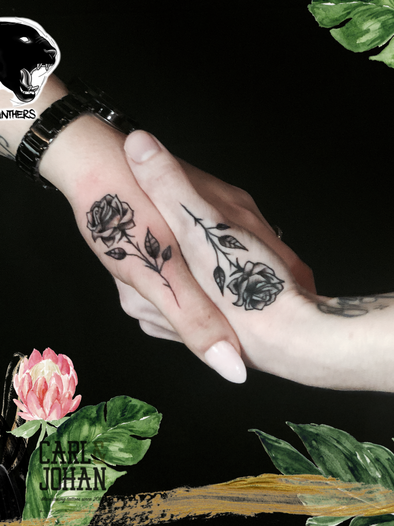Rocky - Friendship roses Ink Panthers Echt Tattooshop Limburg Tattoo