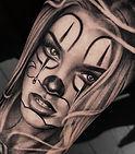 Muerte portrait tattoo
