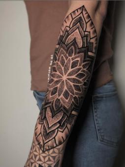 Rocky - Mandala - Ink Panthers Echt Tattooshop Limburg Tattoo